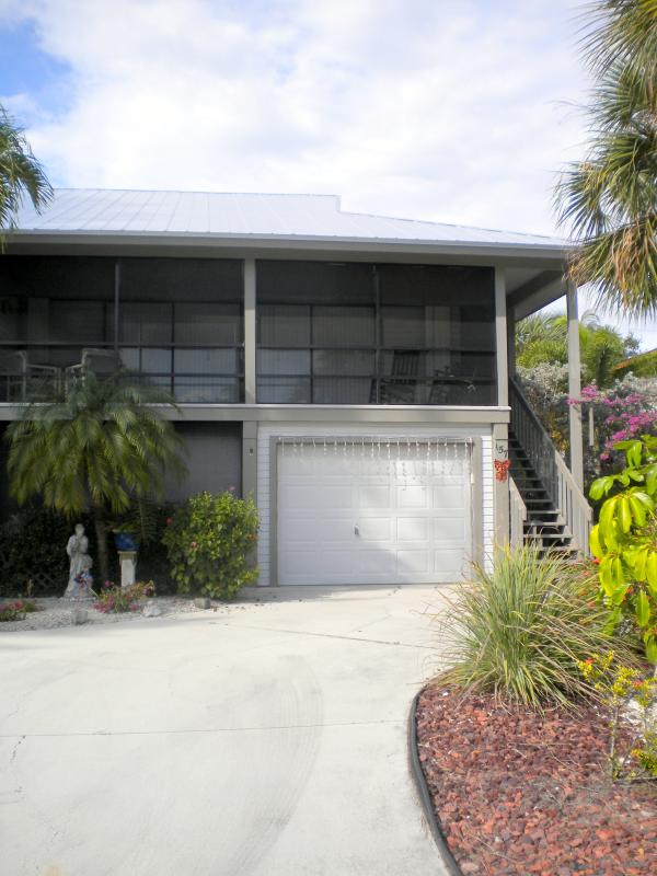 Front of Duplex - Pet-Friendly House on Beautiful Fort Myers Beach - Fort Myers Beach - rentals