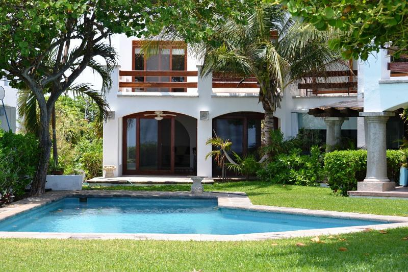 Luxury Ocean Front Residence - Semi private beach - Image 1 - Cancun - rentals