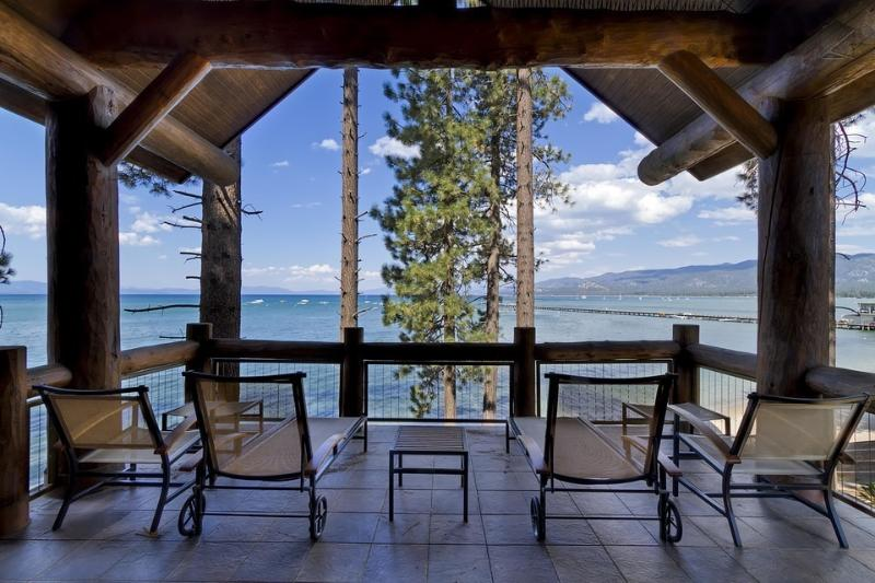 This amazing lakefront location offers unparalleled views from your private deck. - When awesome doesn't quite cut it.  - Sierra Shores 4BR Townhome - South Lake Tahoe - rentals