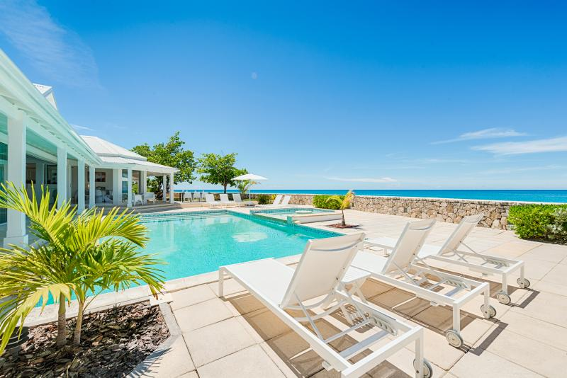 ECUME DES JOURS...4 BR with  Endless turquoise views and the peaceful sound of - Image 1 - Plum Bay - rentals