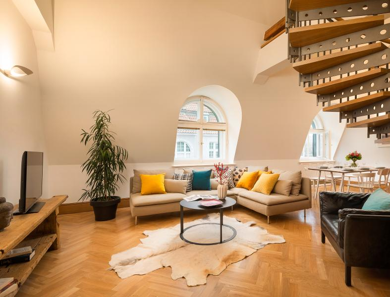 Four-Bedroom Grand Apartment - Image 1 - Prague - rentals