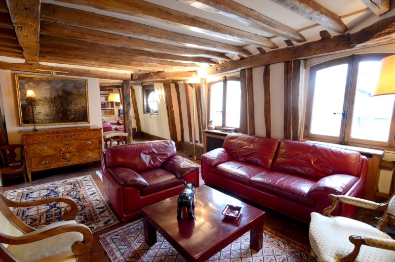 History and charm 2BR rental next to the Louvre - Image 1 - Paris - rentals