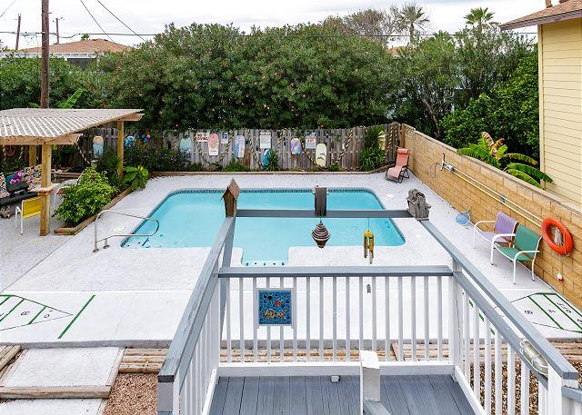 Private Pool - Isle Be Back: PRIVATE POOL, Walk to Beach, Pets, Palapa - Port Aransas - rentals