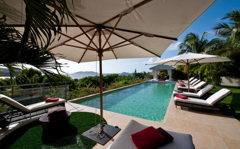 Cumulus - Ideal for Couples and Families, Beautiful Pool and Beach - Image 1 - Saint Barthelemy - rentals