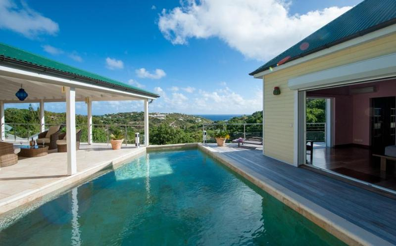 Ideal for Couples & Families, Swimming Pool, Beautiful Ocean Views, Short Drive to Beach - Image 1 - Marigot - rentals
