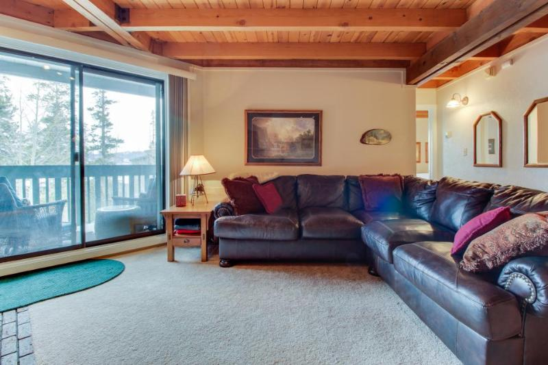 A shared pool, hot tub & gym, close to skiing & boating! - Image 1 - Silverthorne - rentals