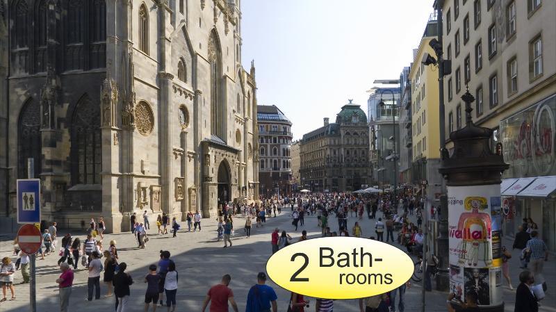 """. - St. Stephen II """"only 1 min. St. Stephen Cathedral"""" - Vienna - rentals"""