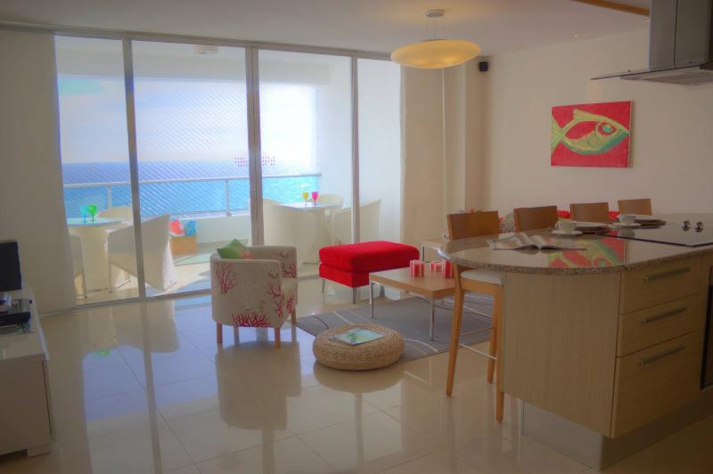 Stylish  Marbella Beachfront Apartment - Image 1 - Juan Dolio - rentals