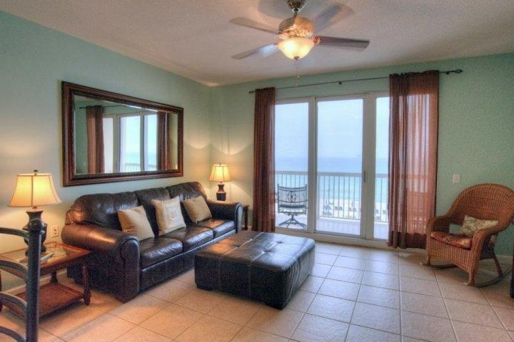 Beautiful Views from our spacious balcony. - 302 Seychelles - Panama City Beach - rentals