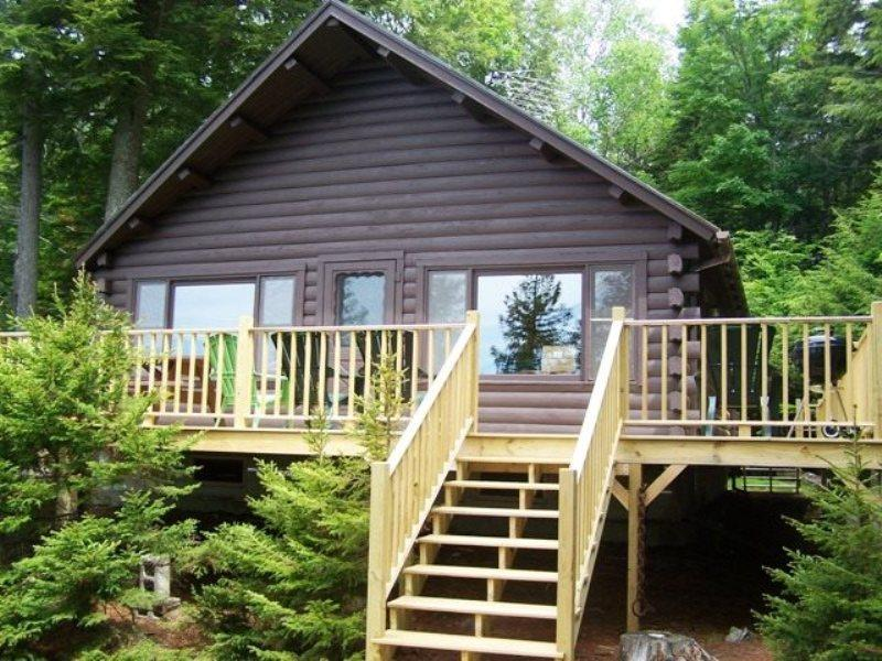 Log Cabin in the Woods on Moosehead Lake - #111 A cabin in the woods on the lake - Greenville Junction - rentals