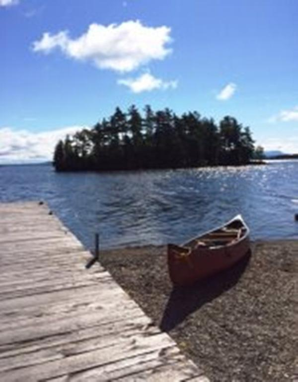 #134 Escape to this classic camp with private beach & dock - Image 1 - Rockwood - rentals