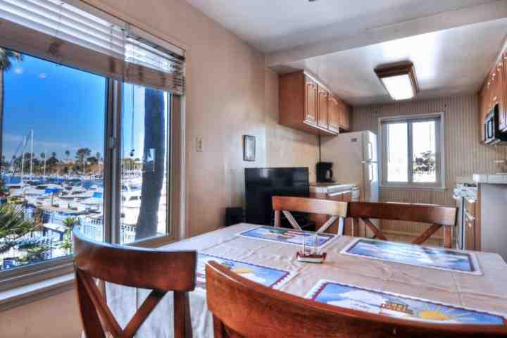 View from your dining room table - Marina Del Mar  - Marina View 201B - Oceanside - rentals
