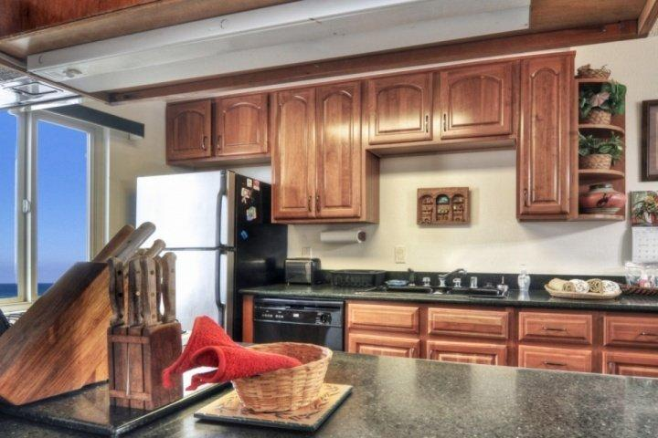 Renovated kitchen - Marina Del Mar 207A - Ocean Views - Oceanside - rentals