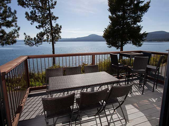 Deck - Brockway Springs Lake Front Condo - Carnelian Bay - rentals