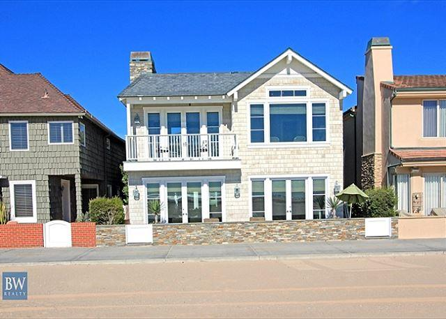 Beautiful Single Family Oceanfront  Home! (68301) - Image 1 - Newport Beach - rentals