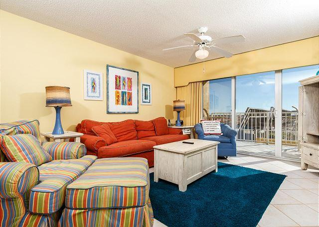 Bold and beautiful with perfect views of the beach and quick acc - GD116: SEAS THE DAY and book the perfect beach GETAWAY in this stellar CONDO! - Fort Walton Beach - rentals