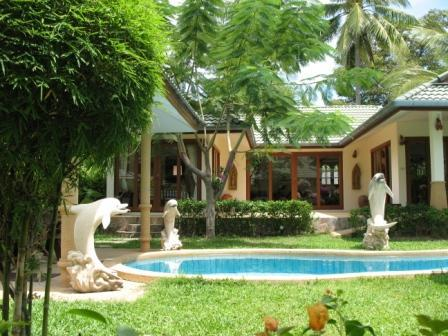 garden and pool 3 bed room villa - Idyllic Samui Resort 3 bed room villa - Koh Samui - rentals