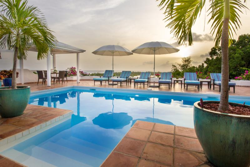 Beautiful Views over the Caribbean Sea and the Sunset - Image 1 - Terres Basses - rentals