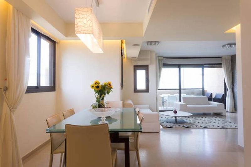 Sea View, 5th floor, 2 min walk beach - Image 1 - Tel Aviv - rentals