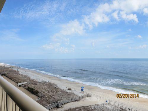 North View from Deck - Pelican Watch 904 - Carolina Beach - rentals