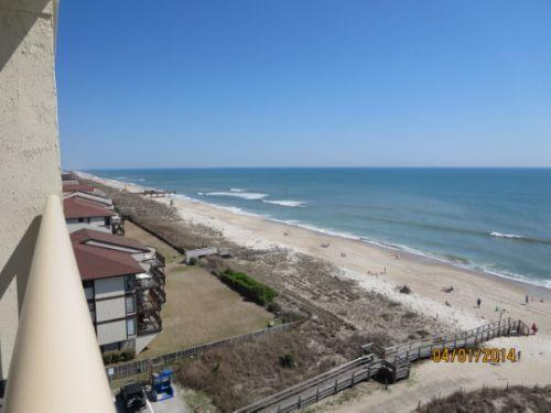 View - Pelican Watch 802 - Carolina Beach - rentals