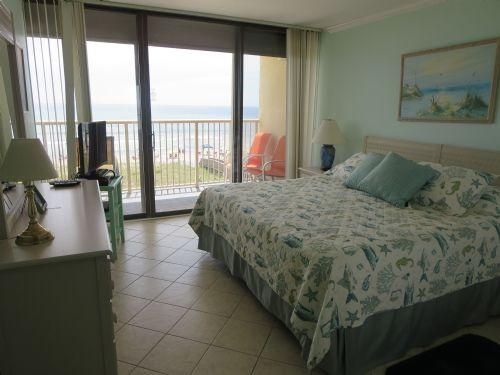 Master Bedroom, View 1 - Pelican Watch 301 - Carolina Beach - rentals