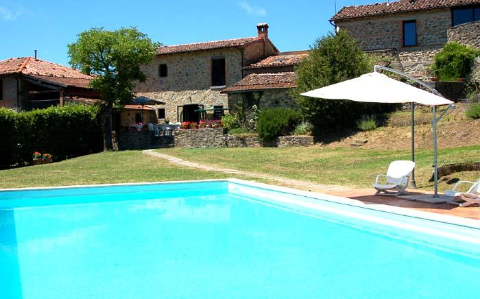 House with private pool/garden in Garfagnana - Image 1 - Villa Collemandina - rentals