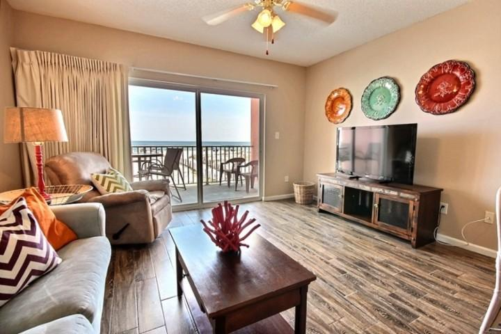 Living Room - Tropic Isle 102 - Gulf Shores - rentals