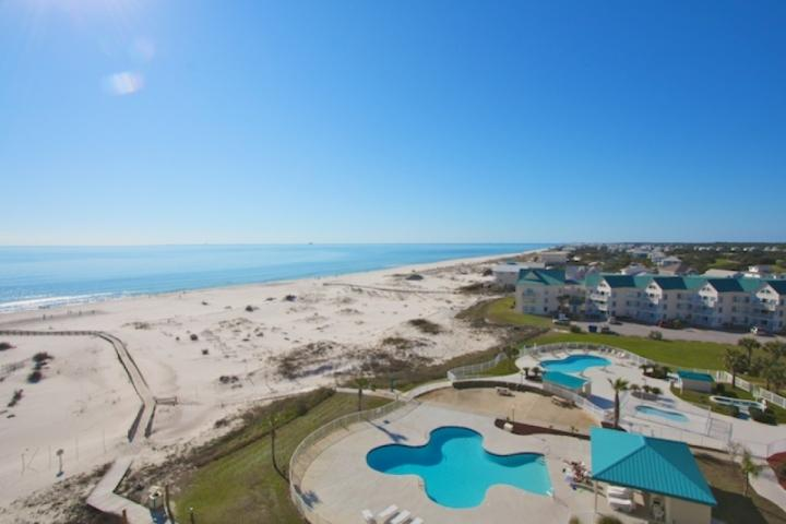Amazing view from the balcony! - Gulf Shores Plantation Dunes 5706 - Fort Morgan - rentals