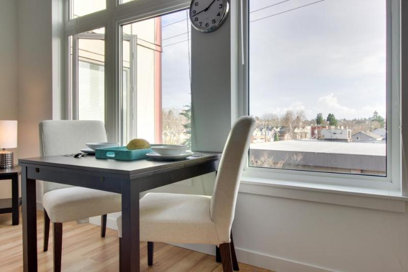 Dog-friendly condo across the street from Green Lake, plus a shared roof deck! - Image 1 - Seattle - rentals