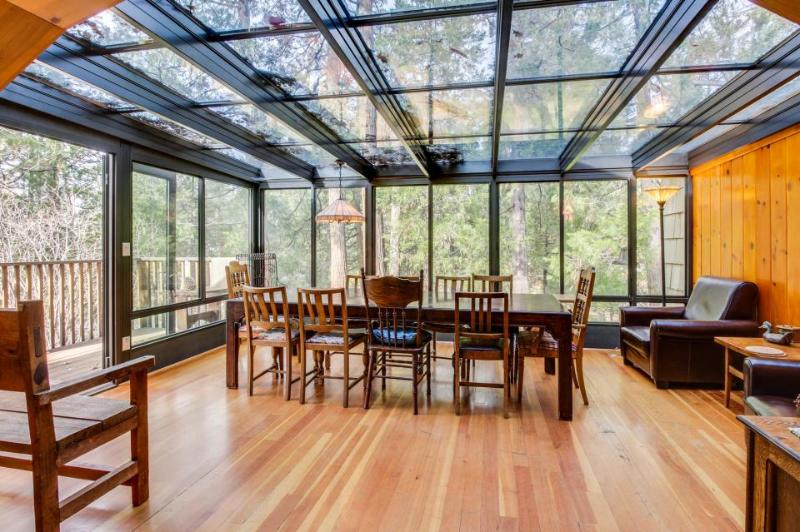 House in the woods with private hot tub & glass atrium dining room! - Image 1 - Idyllwild - rentals