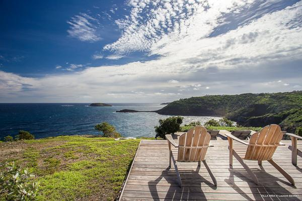 Delightful villa offering dramatic ocean views WV MBA - Image 1 - Pointe Milou - rentals