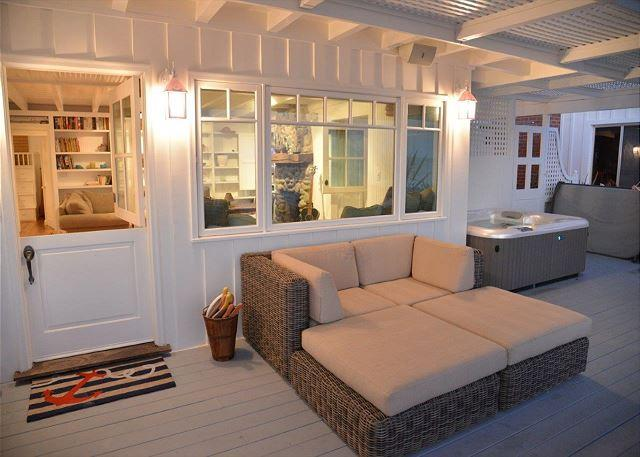 771 - Adorable Beach Cottage with Hot Tub on the Sand! 3 Night Minimum! - Image 1 - Capistrano Beach - rentals