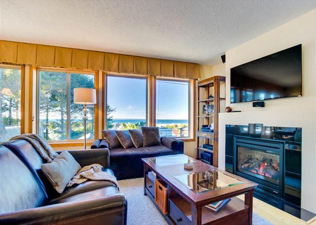 Charming Centrally Located Home With Great Ocean Views! - Image 1 - Lincoln City - rentals