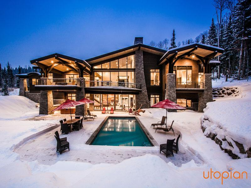 Alpine Sanctuary at Colony Mountain with Direct Ski Access - Alpine Sanctuary Ski-In/Out Colony Estate - Canyons - rentals