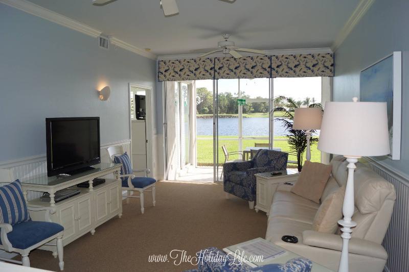 GREENLINKS 1414 - Renovated Coastal Golf Villa, Best Views! - Image 1 - Naples - rentals