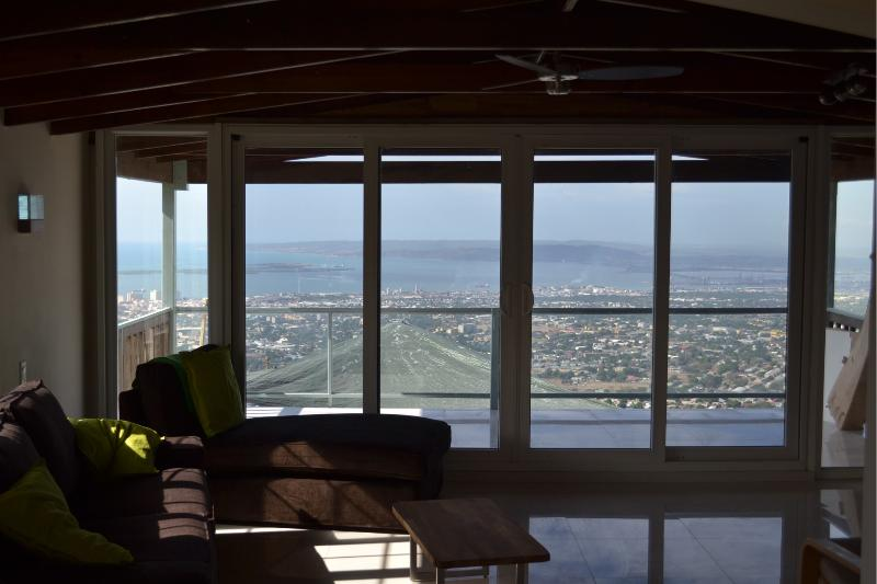 The view from the living and dining areas - Balcony 2 Bed Apt shared Pool, Degicel TEL:4566516 - Kingston - rentals