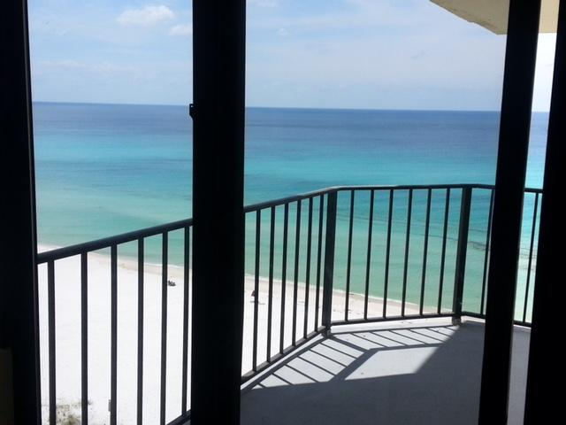 Balcony view - Luxury 11th Floor Oceanfront Condo - Ranger - rentals