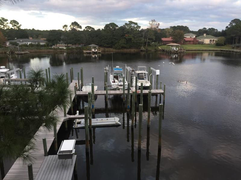 private dock for fishin - LAGOON FRONT-PET FRIENDLY-BOAT SLIP-BEACH ACCESS - Panama City Beach - rentals