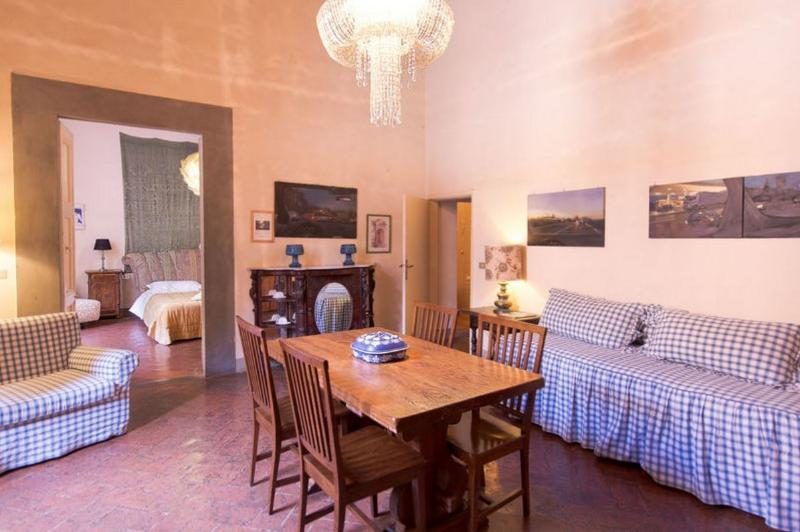 Tuscan Apartment in Historic Castle - Il Castello 8 - Image 1 - Montespertoli - rentals