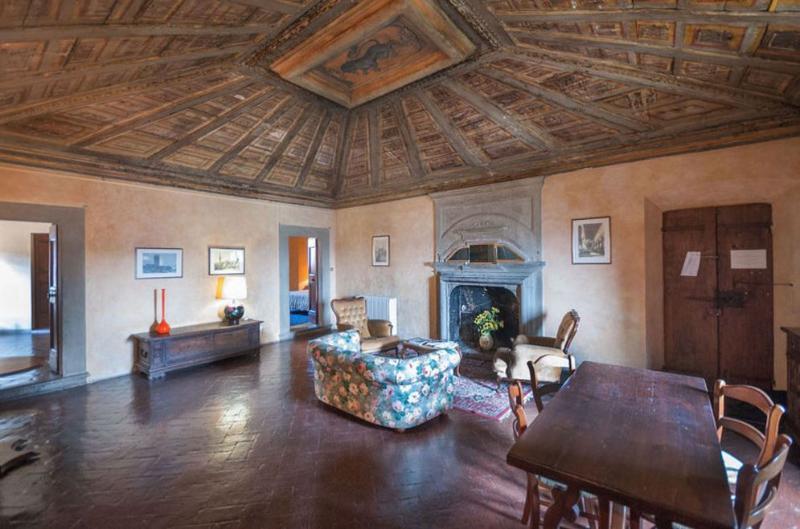 Tuscan Apartment in Historic Castle - Il Castello Cupola - Image 1 - Montespertoli - rentals