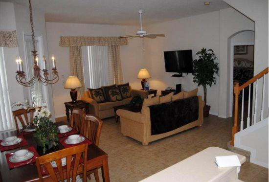 Tuscan Hills 4 Bedroom Pool Home Minutes From The Parks. 444BD - Image 1 - Kissimmee - rentals