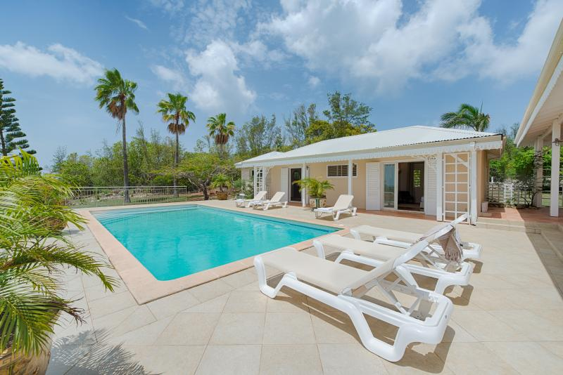 Ideal for Couples & Groups, Equal Bedrooms, Short Walk to Beach & Restaurants, Private Pool - Image 1 - Terres Basses - rentals