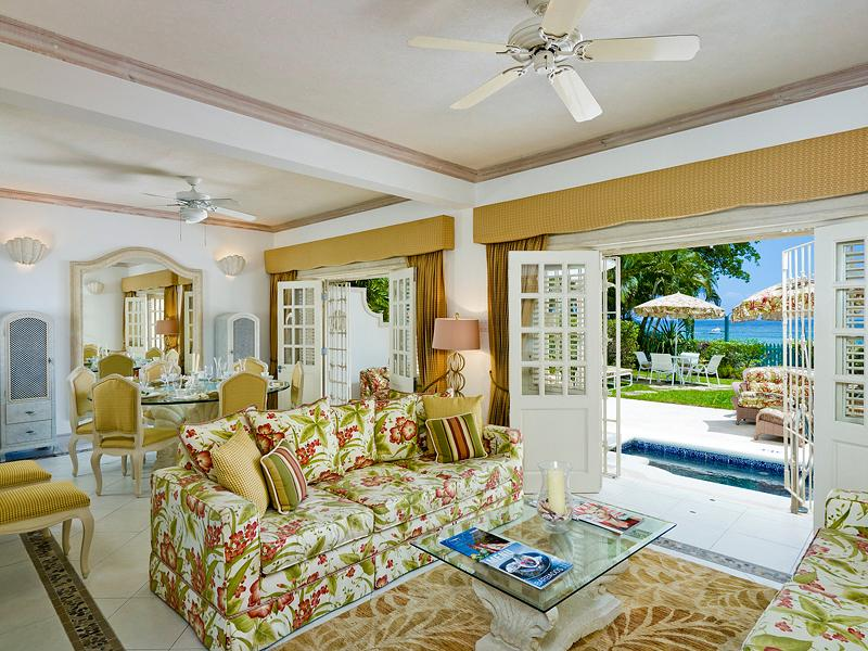 Luxurious Beachfront Townhouse - Image 1 - Paynes Bay - rentals