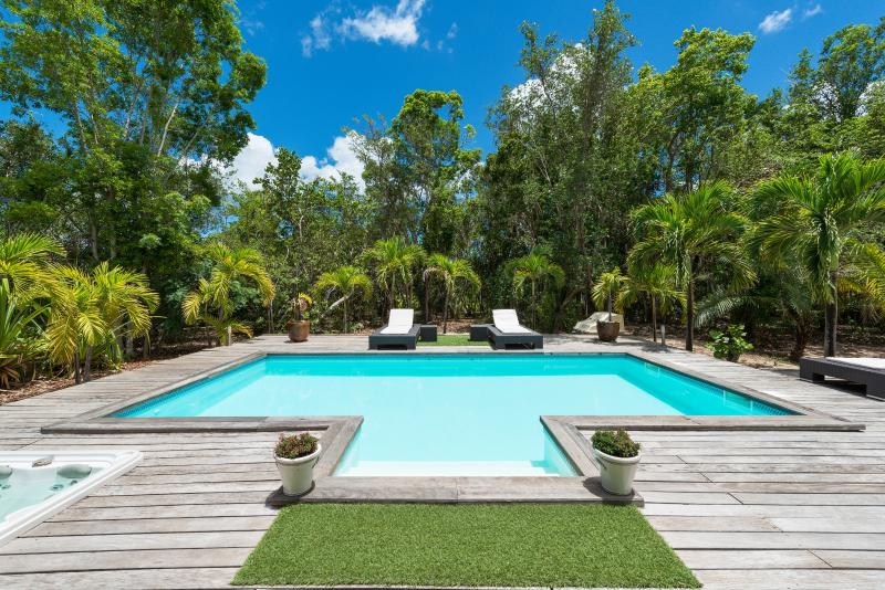 Monchal - Ideal for Couples and Families, Beautiful Pool and Beach - Image 1 - Terres Basses - rentals