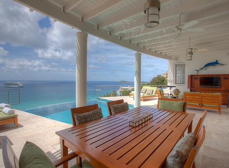 Palms at Morningstar - Ideal for Couples and Families, Beautiful Pool and Beach - Image 1 - Saint Thomas - rentals