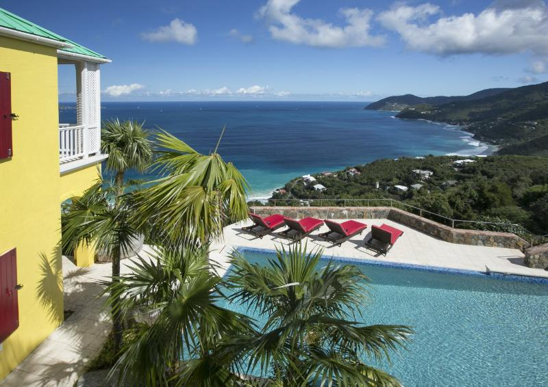 Ridgemont - Ideal for Couples and Families, Beautiful Pool and Beach - Image 1 - Tortola - rentals