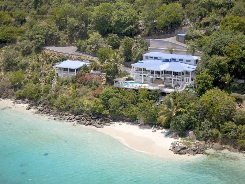 The Beaches below Little Sand Dollar and Sand Dollar Main Villa - Sand Dollar Estate | St. Thomas, USVI | 9 Bedrooms, 9 Bathrooms, 3 Half-Baths - Saint Thomas - rentals