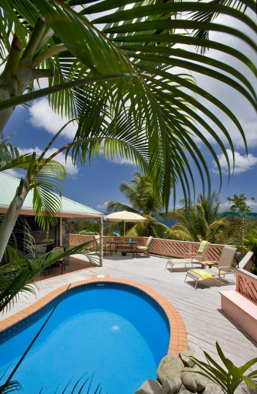 Pool Palms - Stone Cottage| St. Thomas, USVI| 1 Bedroom, 1 Bath - Saint Thomas - rentals