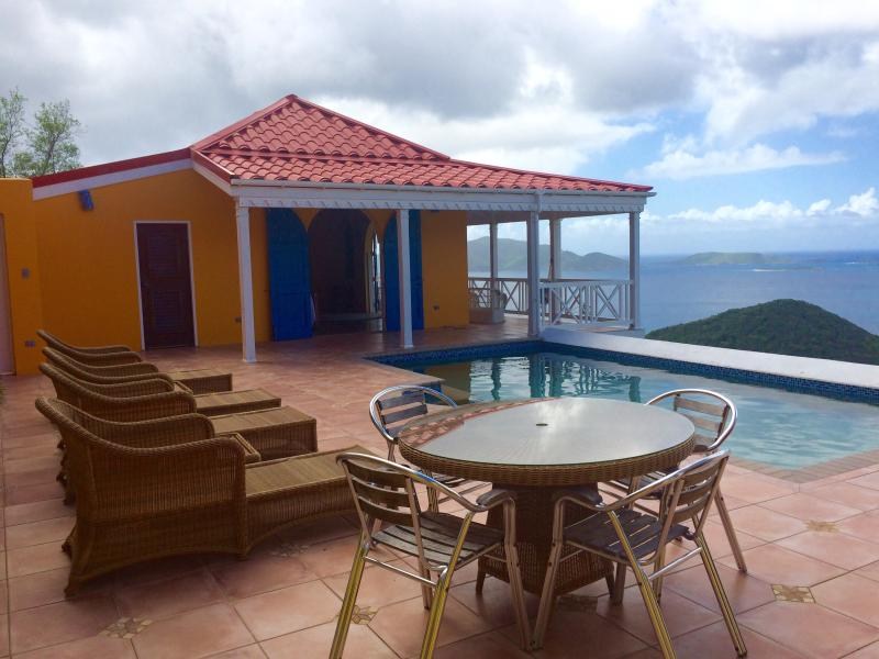 Sunny Side Up - Ideal for Couples and Families, Beautiful Pool and Beach - Image 1 - Tortola - rentals